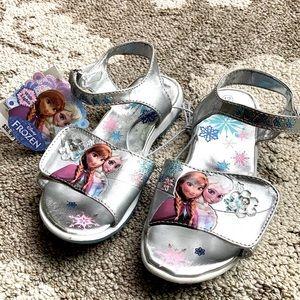 Disney Frozen light up sandals size 12